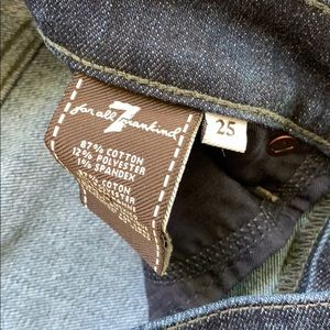 7 For All Mankind Jeans - 7 for all mankind gwenevere skinny ankle jeans